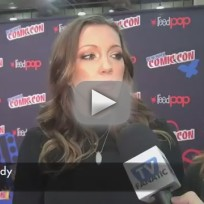 Katie Cassidy Comic-Con Interview