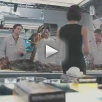 Bones 'The Patriot in Purgatory' Clip - Squints Team Up