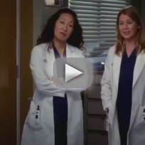 Greys anatomy love turns you upside down clip keep busy and look