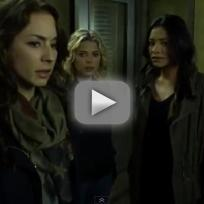 Pretty Little Liars Clip: Is Someone in Here?!?