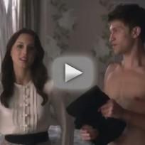 Pretty Little Liars Clip: Toby in a Towel