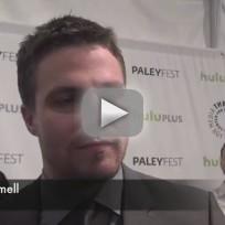 Stephen amell paleyfest interview