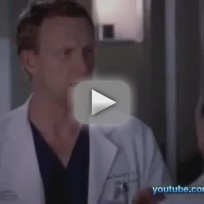 Grey's Anatomy 'Readiness is All' Clip - Owen and Cristina