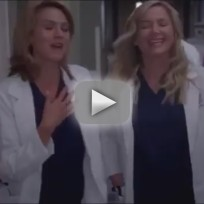 Grey's Anatomy 'Readiness is All' Clip - Lauren and Arizona
