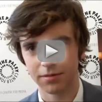 Freddie Highmore Interview
