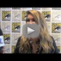 Sarah Carter Comic-Con Interview