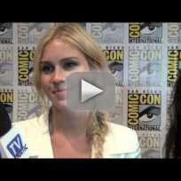 Claire holt comic con interview