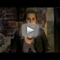 Claire Holt Set Interview