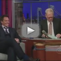 Michael Weatherly on the Late Show