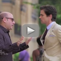 White collar promo stealing home