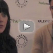 Zooey Deschanel and Max Greenfield PaleyFest Interview