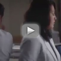 "Grey's Anatomy ""One Step Too Far"" Clip: Alex and Callie"