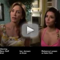 Desperate housewives promo with so little to be sure of