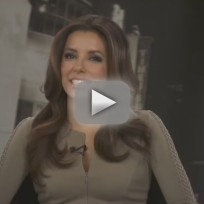 Eva longoria talks to tv fanatic