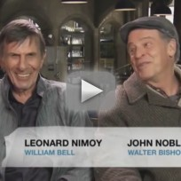 John Noble and Leonard Nimoy Interview