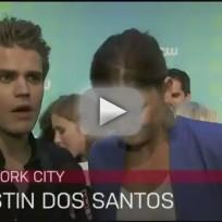 Paul Wesley on Stefan, Vampire Diaries Season 4