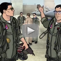 Archer season 5 trailer top gun style