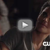 The vampire diaries clip catching stefan up