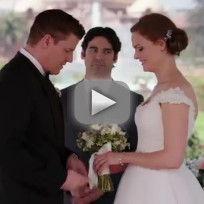 Bones booth and brennan wedding video
