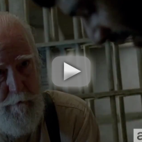 The walking dead clip treating a patient