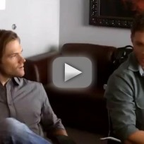 Jensen Ackles and Jared Padalecki Set Interview