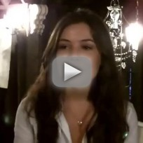 Danielle Campbell Set Interview
