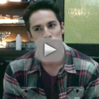 Michael Trevino Set Interview