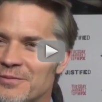 Timothy Olyphant and Graham Yost Interview