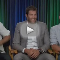 Enlisted interviews parker young geoff stults and chris lowell