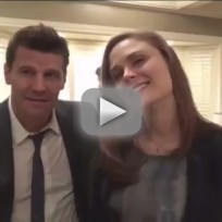 Bones interviews david boreanaz and emily deschanel