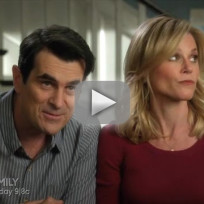 Modern family clip preparing to host