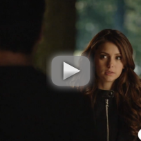 The vampire diaries clip an awkward reunion