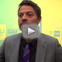 Misha Collins Upfronts Interview