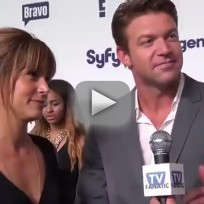 Stephanie Szostak and Matt Passmore Talk Satisfaction
