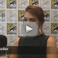 Holland Roden Comic-Con Q&A