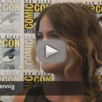 Shelley hennig comic con interview
