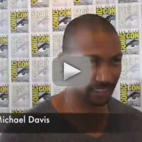 Charles Michael Davis Comic-Con Interview