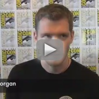 Joseph morgan comic con q and a