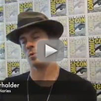 Ian somerhalder comic con q and a