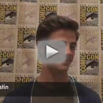 Grant Gustin Comic-Con Interview