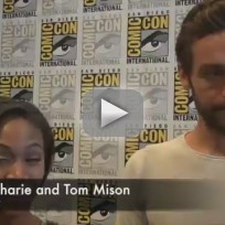 Nicole-beharie-and-tom-mison-at-comic-con