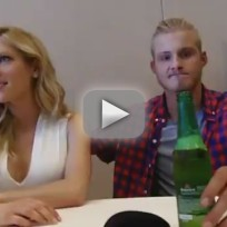 Alexander Ludwig and Katheryn Winnick Interview