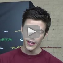 Grant Gustin Previews Arrow Crossover