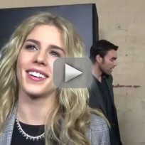 Emily Bett Rickards Talks Felicity, Crossover Event