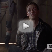 The walking dead clip the distance