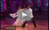 Brooke Burke and Derek Hough: Quickstep