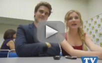 Skyler Samuels and Grey Damon at Comic Con
