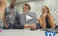 William Sadler and Anna Torv at Comic Con