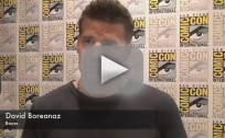 David Boreanaz Comic-Con Interview 2012