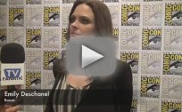 Emily Deschanel Comic-Con Interview 2012